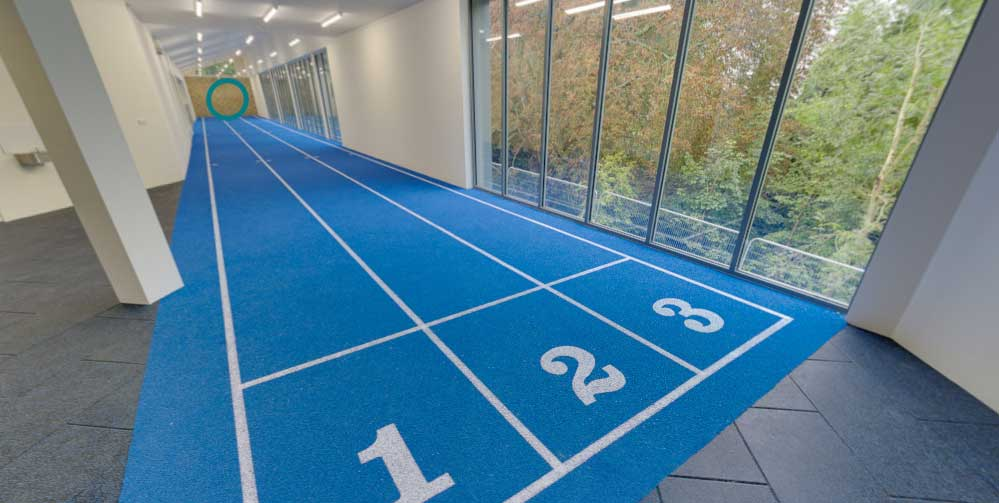 athletics office track
