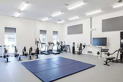 gym acoustics