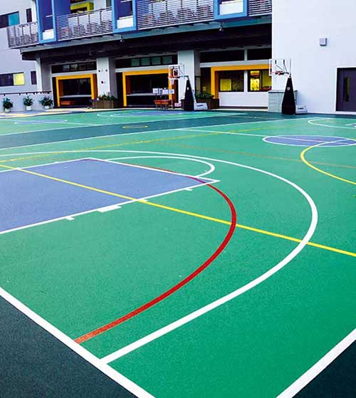 sports surfaces for multi-use games areas