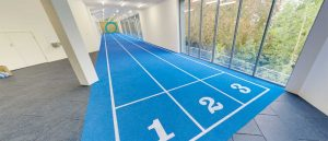 Indoor Athletics Track System