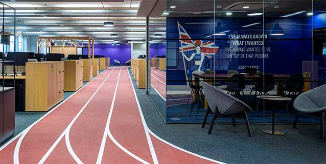 office athletic track