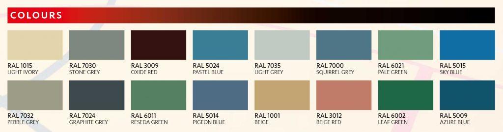 polyurethane floors colours
