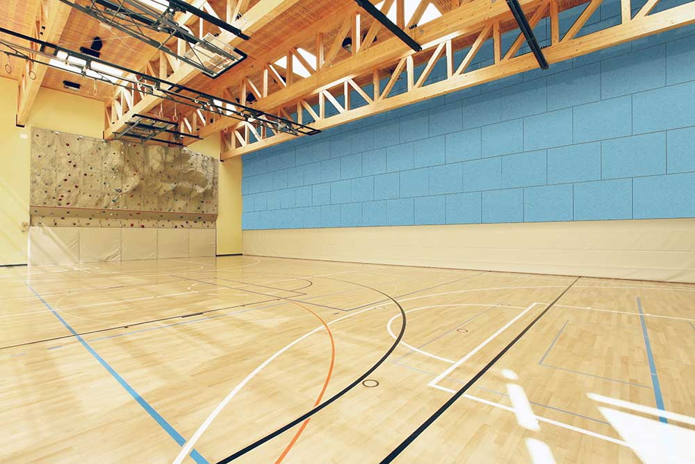 sports hall acoustics