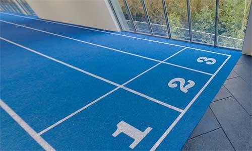 Indoor Athletics Track System