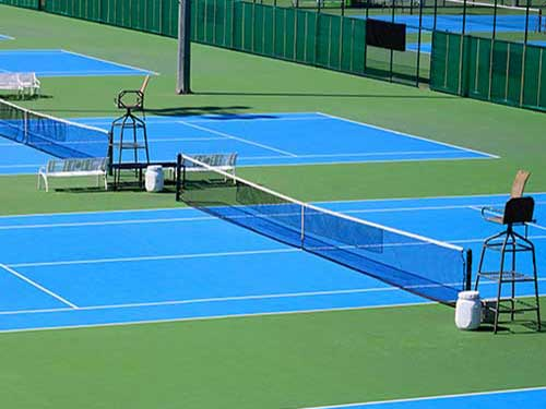 tennis sports surfaces