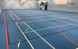 case study broughton high school sports hall flooring