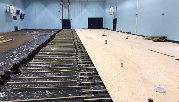 indoor sports flooring case study