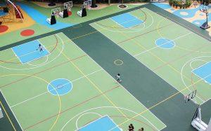 Polyurethane vs vinyl sports flooring