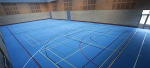 Sports Hall Flooring - Polyurethane or Timber