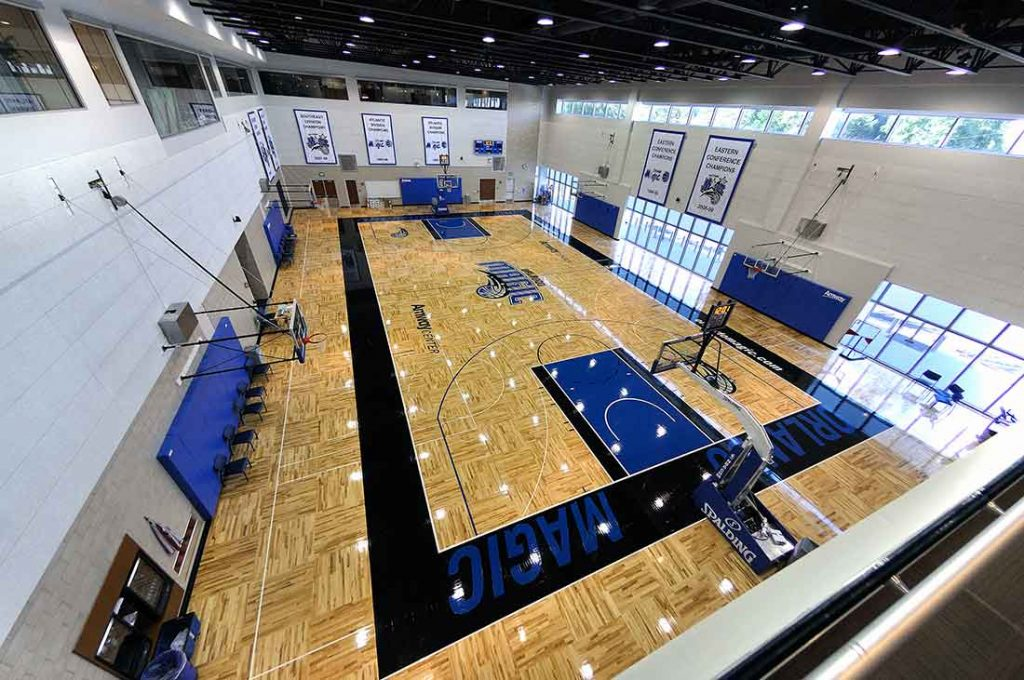 What is Sports Hall Flooring Made of