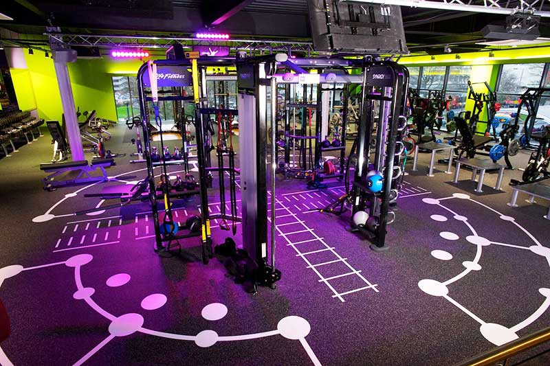 functional fittness gym flooring