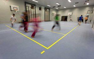 school sports flooring