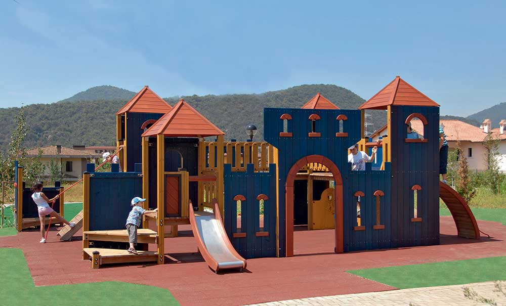 What is the best playground surface material