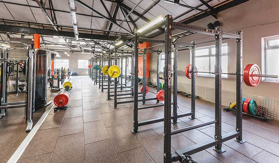 What are the main types of gym flooring?